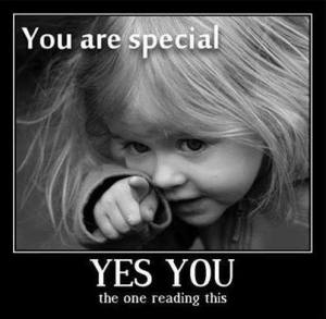 Child's 'You Are Special'