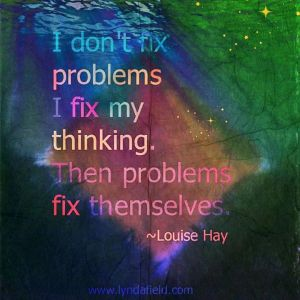Fixing Problems & Thinking